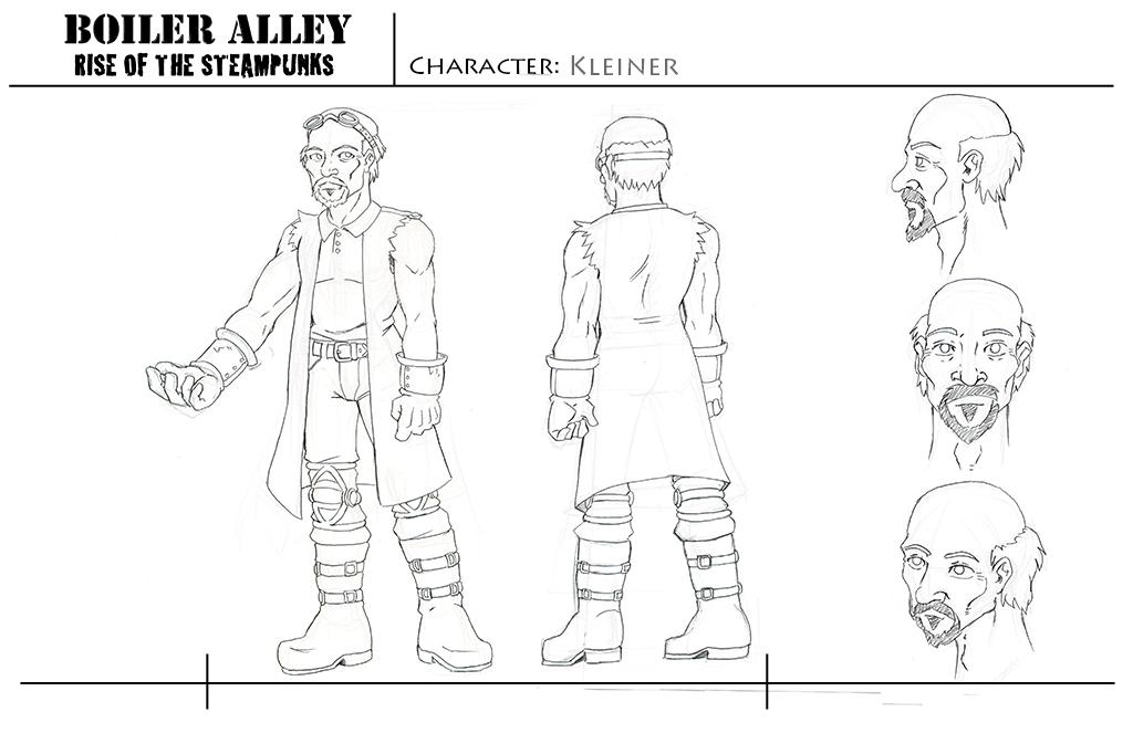 Character Sheet - Kleiner