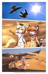 Falconry hunting