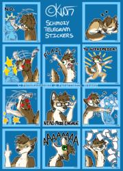 Schmozy Telegram Stickers