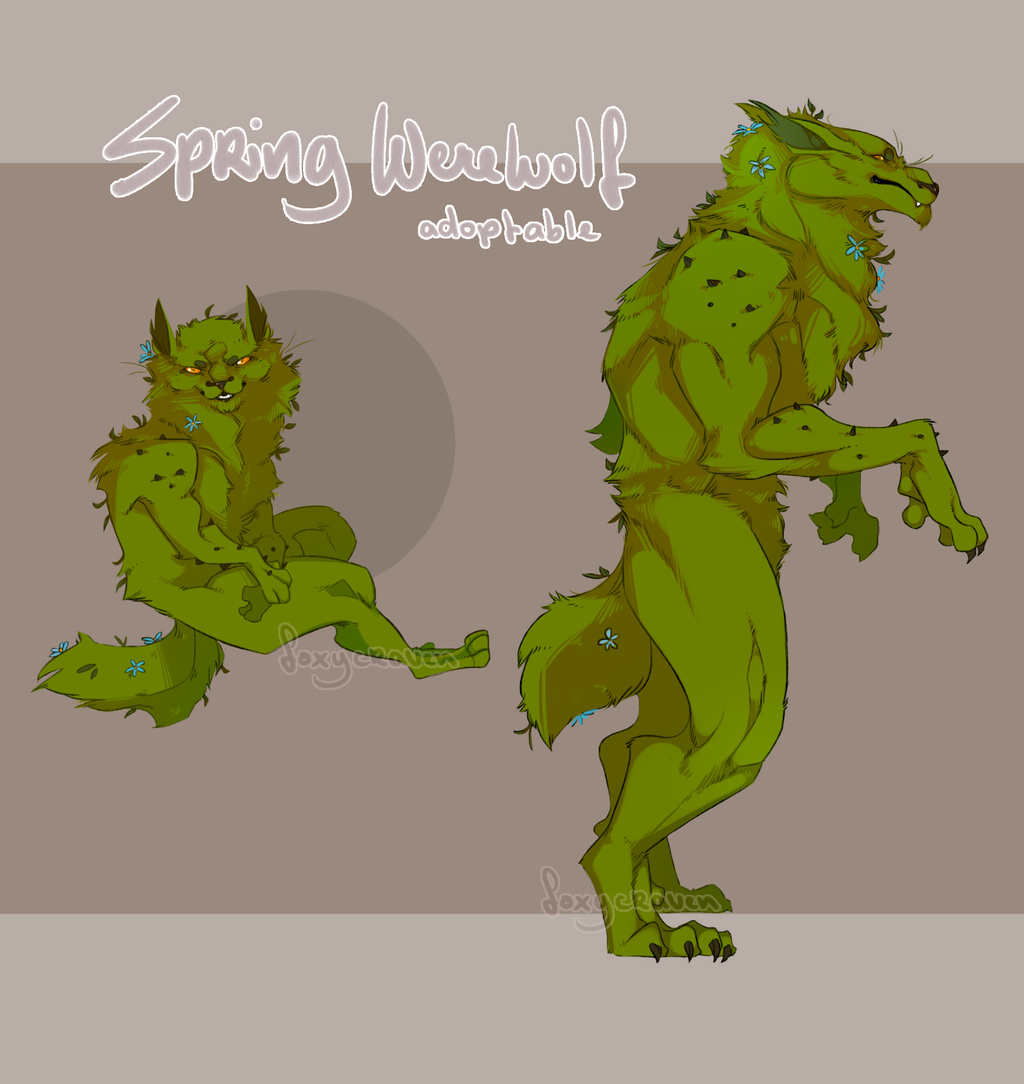 Spring Werewolf [Closed]