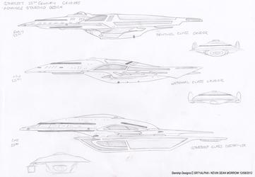 Advance Starship Designs - 25th Century Era