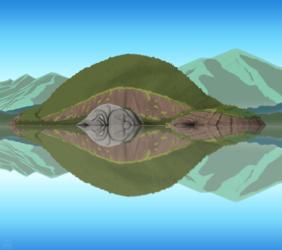 Henrietta Island in Lake Comfort >:0