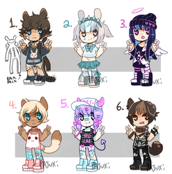 SMALL FRY ADOPTS SET 1- {OPEN}