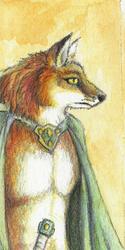 Warrior Fox Bookmark - 2011