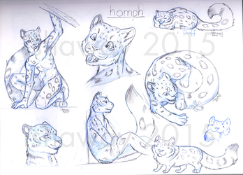 Homph - Sketch page