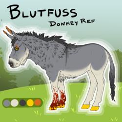 Blutfuss Ref- Donkey
