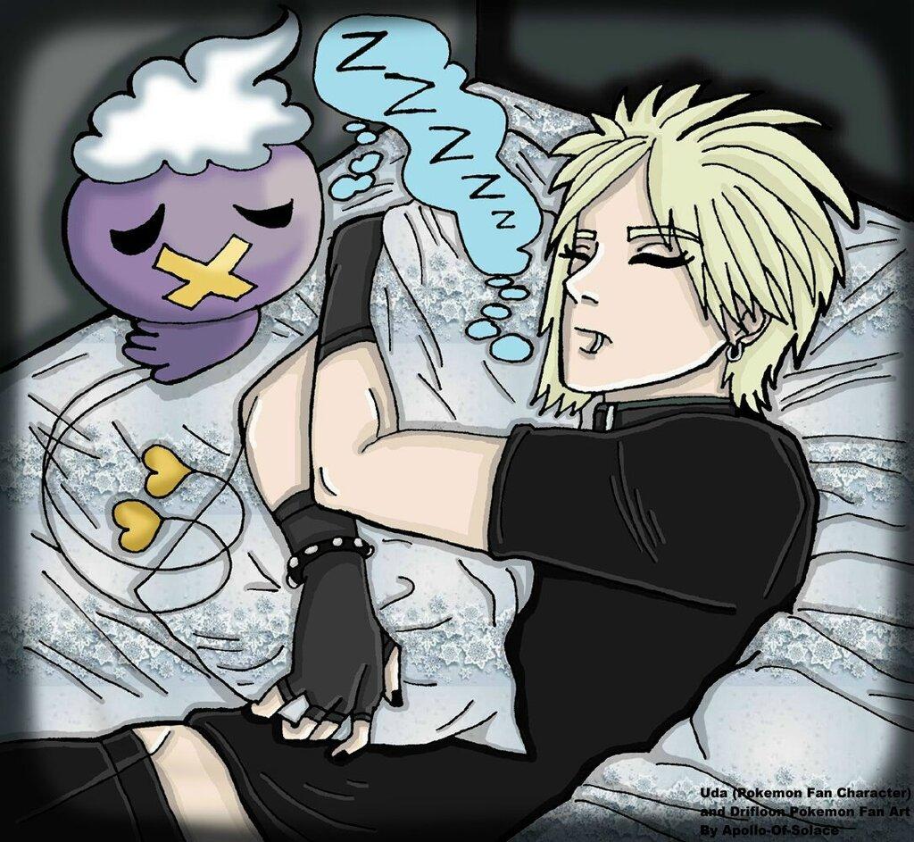 .:Sleepy Uda and Drifloon:.