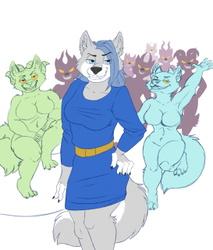 Natasha Incubo and her Servants
