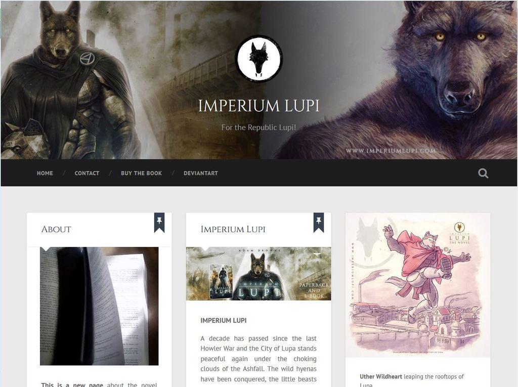 Imperium Lupi - Wordpress