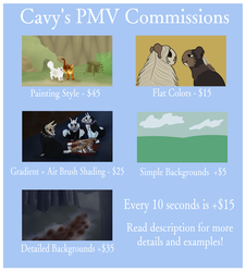 PMV Commissions (OPEN)