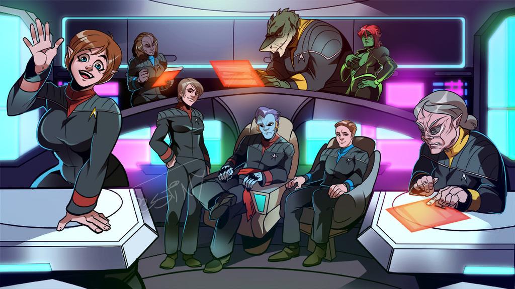 Star Trek OCs Assemble (COMMISSION)