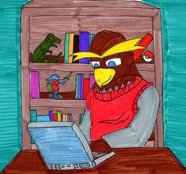 Owl Writing Time