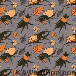 Autumn Beetle Background