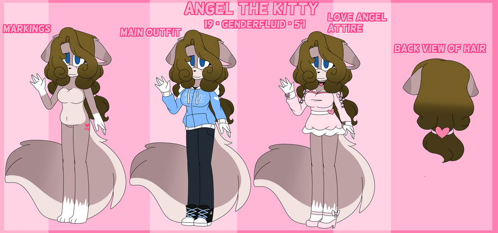 Most recent image: Ref  Angel the kitty (Sonic self)  