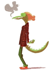 Hipster Dragon...