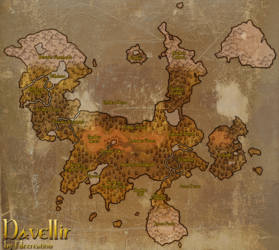 World Map - Davellir