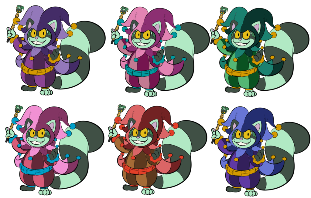 Jester Puck Palettes