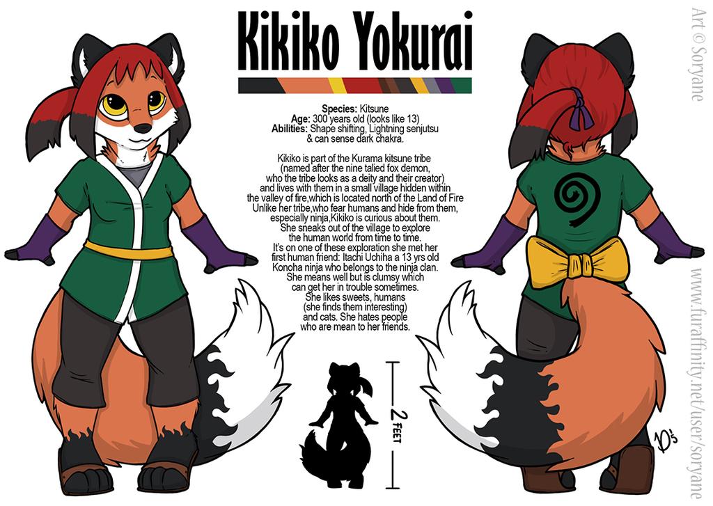 Kikiko - Chibi Ref Sheet
