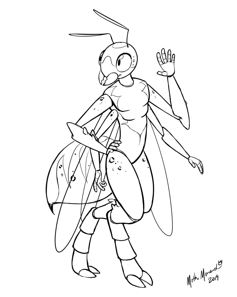 Spotty Wasp