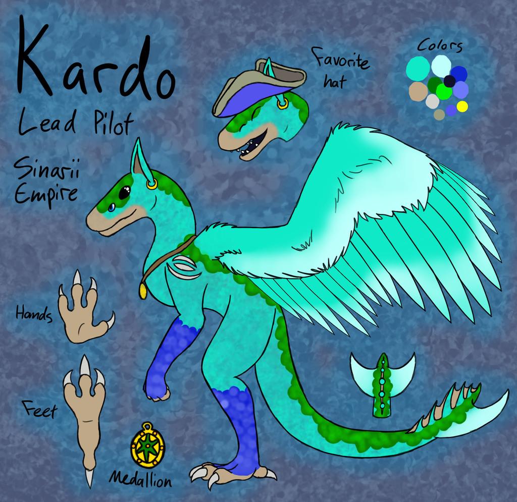 Kardo, the Sinarii pilot