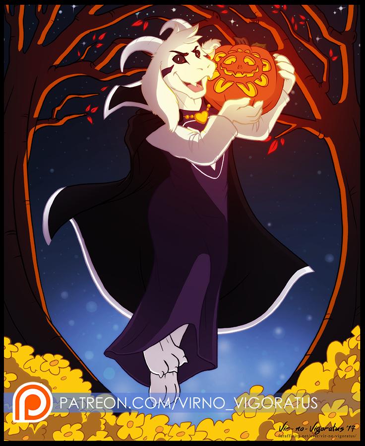 Most recent image: Asriel-O-Lantern