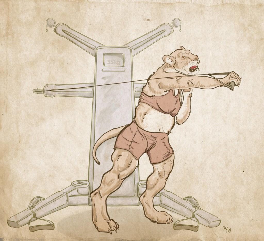 Most recent image: Lan's Workout