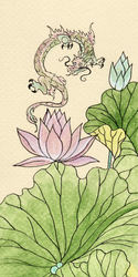 Tiny Lotus Dragon
