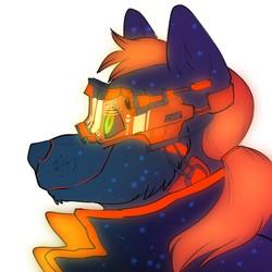 Cyberpunk Portrait, by Jonas
