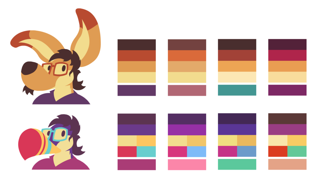 Reference Palettes
