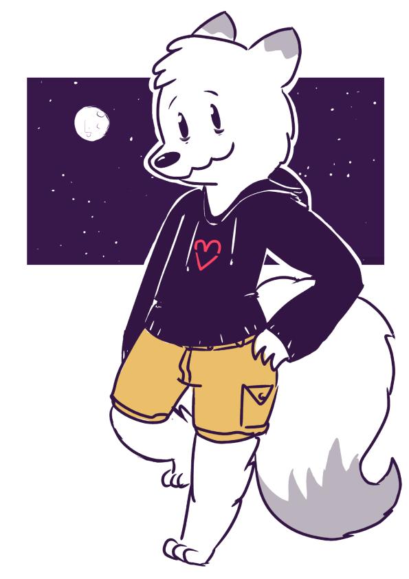 an arctic fox (1)