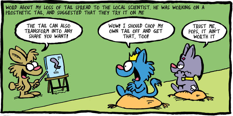 THE FUZZY PRINCESS (4-21)