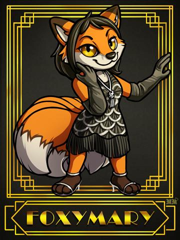 FoxyMary Ridicudorable Deluxe