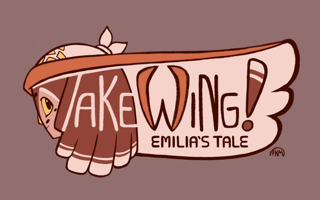 Most recent image: Take Wing! Rough Logo Design