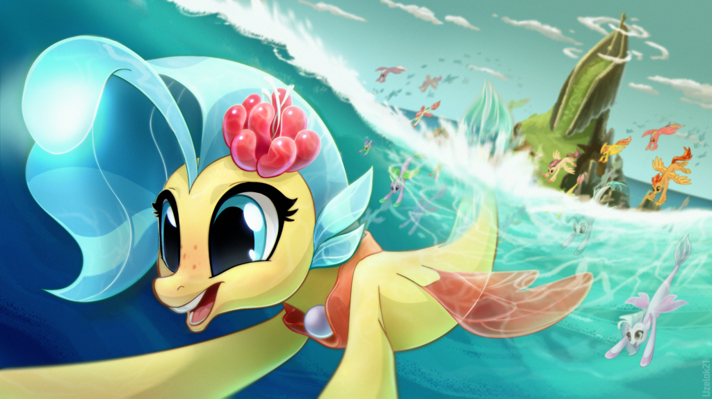 Most recent image: Princess invites you to a sea party!