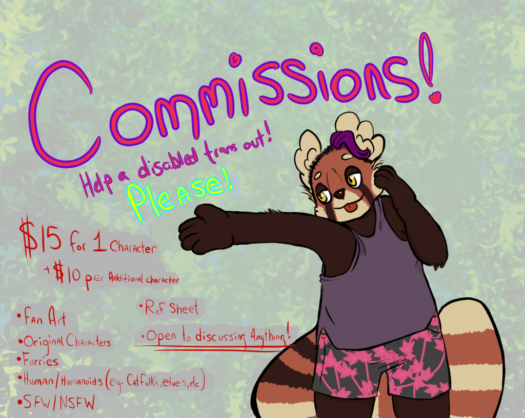 Help a guy afford pain medications - Commissions