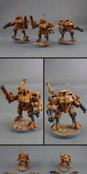 Tau Battlesuits
