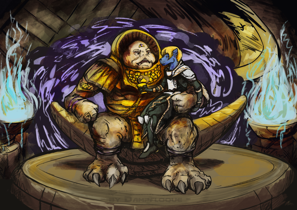 Emperor Calus and The Otter
