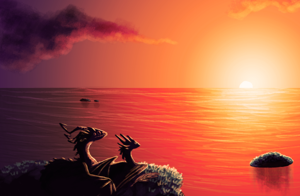 Most recent image: Watching Sunset