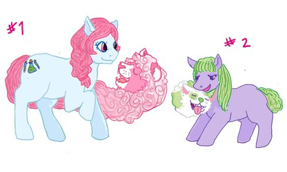 TAILMOUTH PONY ADOPTS OPEN