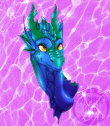 [REQ] Blue Dragoness