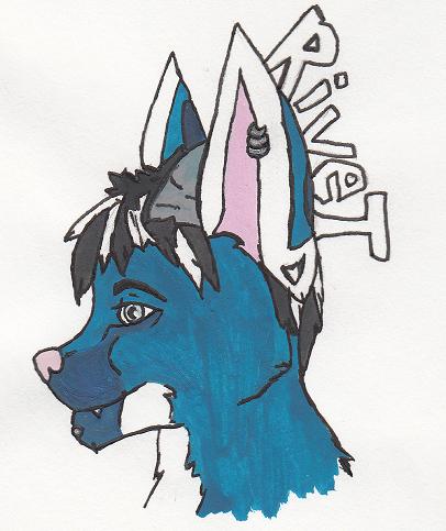 Rivet Watercolor Badge