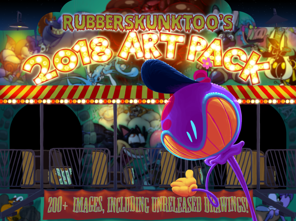 New Art Pack! Everything from 2018!