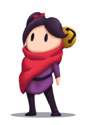 The Girl With The Scarf