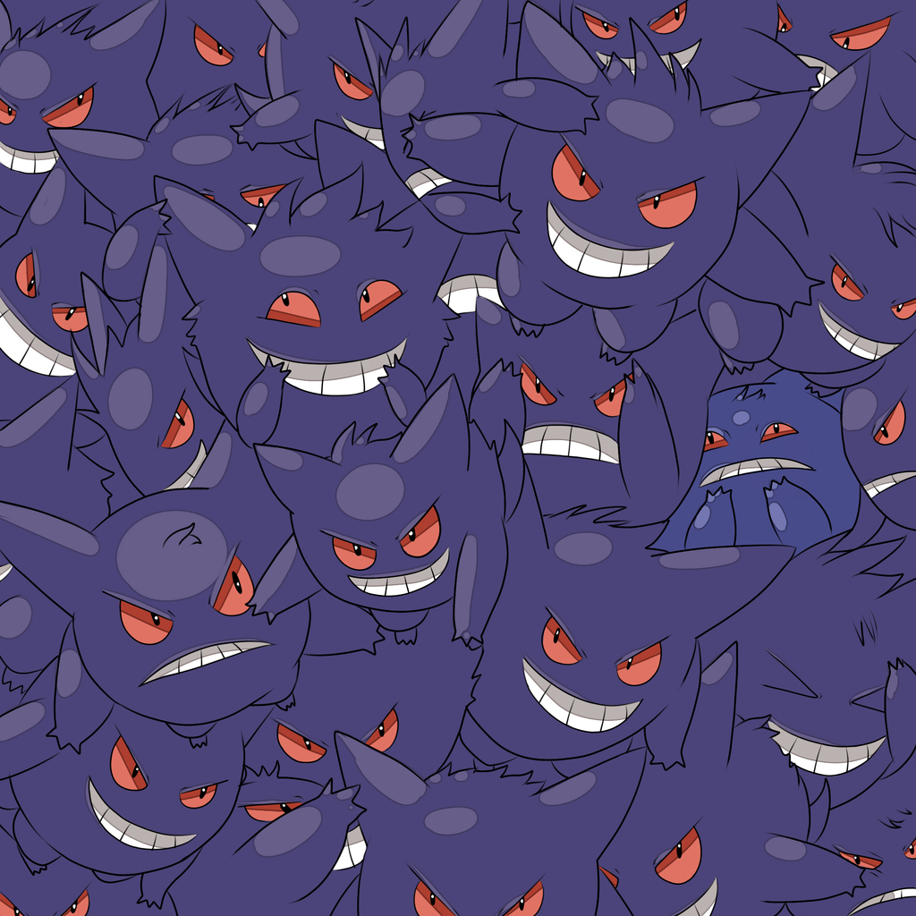 Most recent image: Murder of Gengar