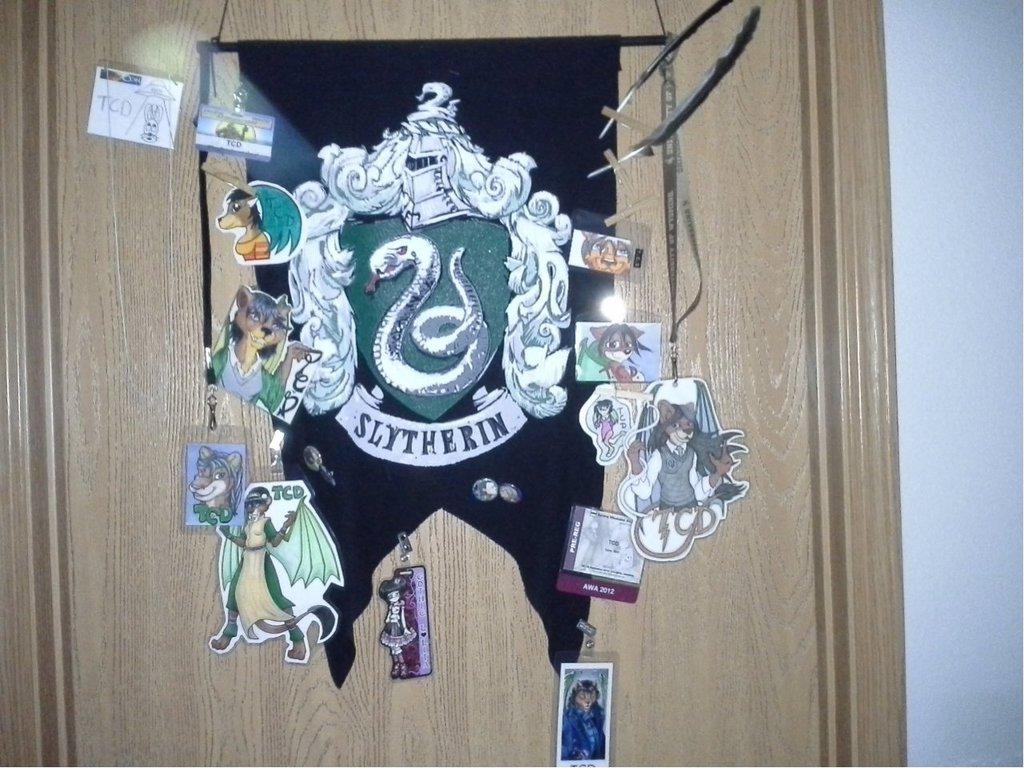 Most recent image: Slytherin Banner o' Badges 2