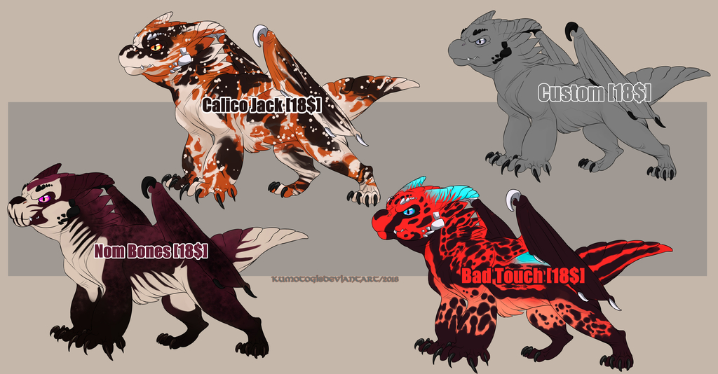 Baby Dragon Adopt Designs [OPEN]2 PAYPAL