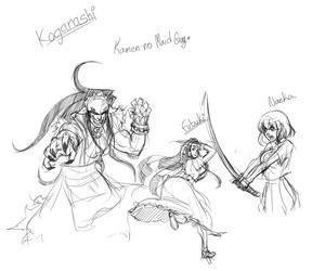 Kamen no Maid Guy doodles