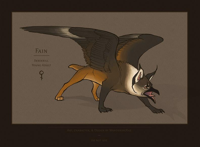 2013: Fain Character Sheet