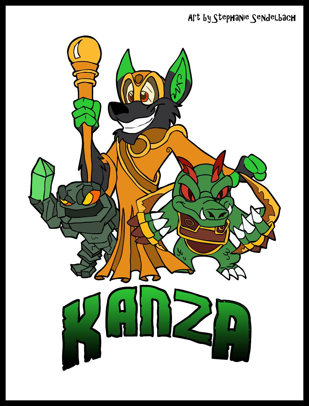 Kanza Skylanders Badge