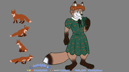Double Fox for Eric Sophia McAllister from Curio